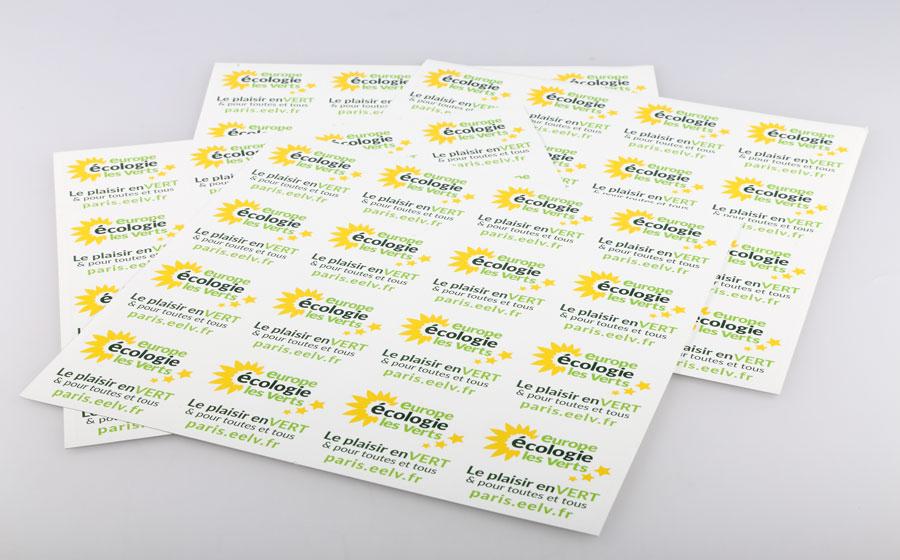 autocollant ecologique stickers