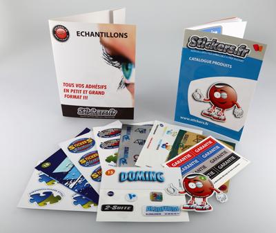 stickers echantillon