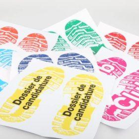 Stickers de sol